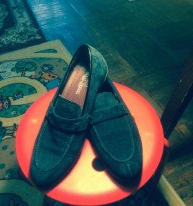 Туфли , натуральная замша