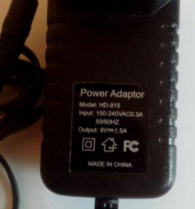 Зарядка 3,5 мм для планшета , электронной книги