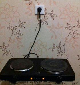 Электрический плита 2х комфорочная