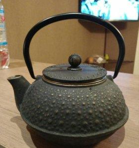 Новый китайский чайник с сеточкой