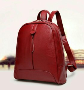 Рюкзаки новые экокожа черный коричневый красный