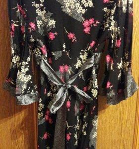 Платье -кимоно.