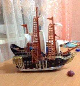 Корабль из фильма пираты Карибского моря
