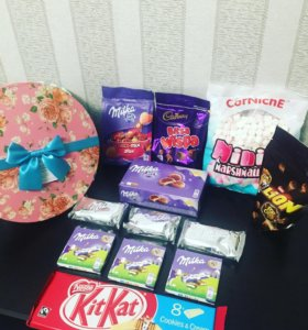 Набор конфет в коробке