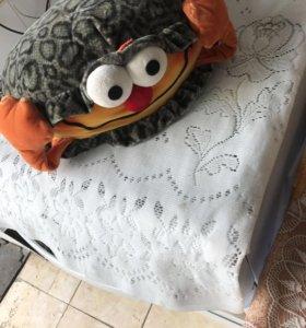 Подушка-игрушка ракушка!!
