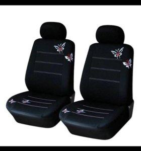 Чехлы на передние сиденья автомобиля