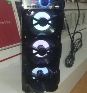 Колонка bluetooth + микрофон