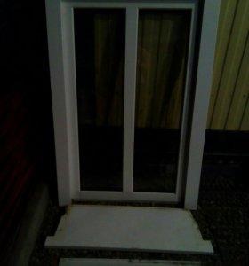 Металлопластиковое окно б/у