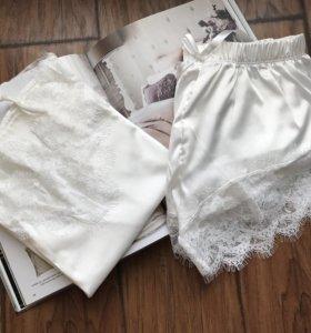 Белая пижама для дома