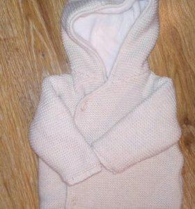 Кофта-курточка. 3-6 мес Мазекея