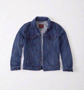 Джинсовая куртка Аберкромби XL