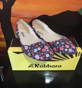Балетки новые Nobbaro