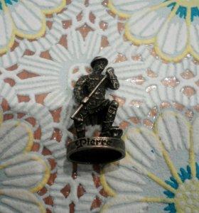 Коллекционный солдатик из олова