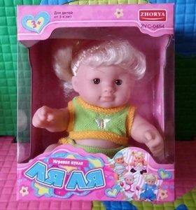 Кукла - пупс НОВАЯ