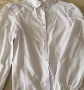 Блуза белая б/у