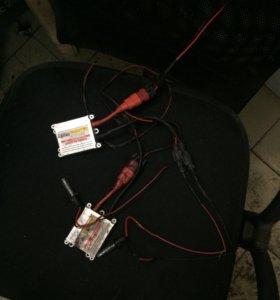 Комплект ксенона 2 блока,2 лампочки h3