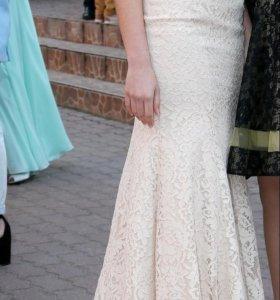 Вечернее (свадебное) платье-русалка