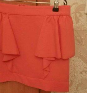 Юбка оранжевая Kira plastinina 42