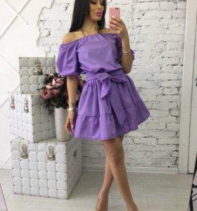 Лиловое платье в наличии все размеры