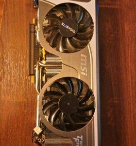 Видеокарта MSI N570GTX 1GB Twin Frozr II