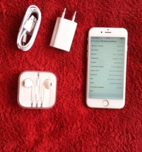 iPhone 6s,64 gb silver
