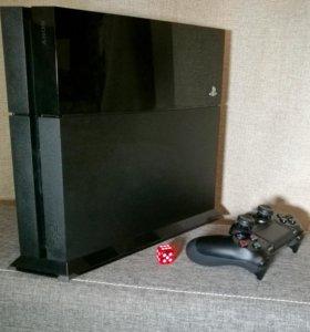 Консоль Sony Playstation 4 с играми