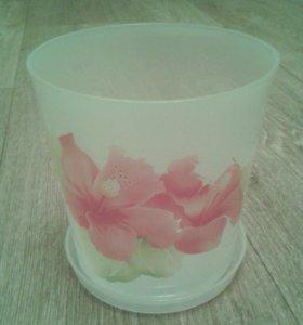 Горшок (кашпо) для цветов, орхидеи