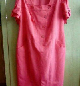 54-56р. Платье караловое