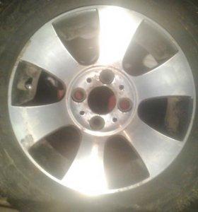 Литые диски r13 с резиной
