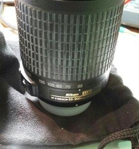 Объектив Nikon 55-200mm