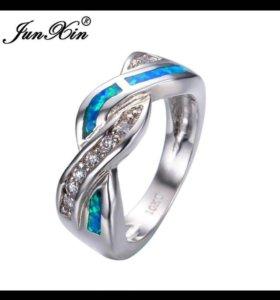 кольцо с опалом новое
