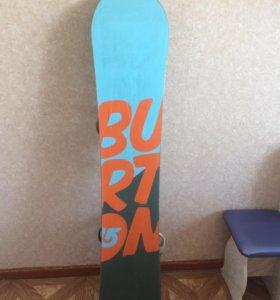Burton Сноуборд+крепления