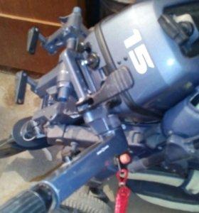 Мотор лодочный yamaha 15 лс