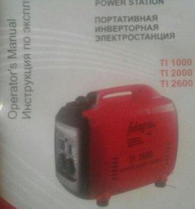 Портативная инверторная электростанция TI 2000