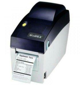 Принтер этикеток Godex EZ DT-2