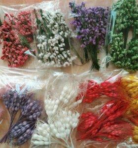 Цветы и корзинки для творчества