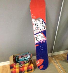 Сноуборд + Обувь + крепление