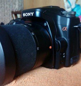 Зеркальная камера Sony DSLR-A100