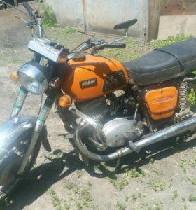 Мотоцикл планета ИЖ-4к