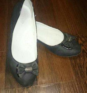 Туфельки на девочку 35 р-р