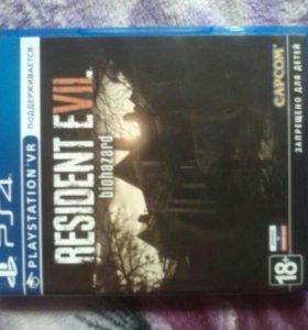 Игра ps4 Resident Evil 7