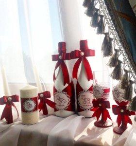 Свадебная атрибутика свадебные аксессуары на заказ