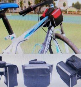 Сумки на раму велосипеда