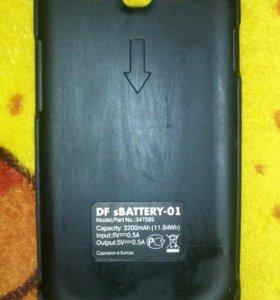 зарядка на Samsung Galaxy S3