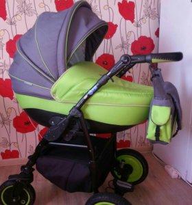 детская коляска 2в1 Adamex champion alu