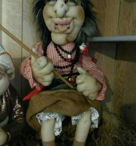 Интерьерная кукла Бабусечка Ягусечка