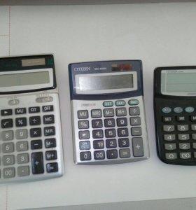 Три калькулятора всего за 200 рэ