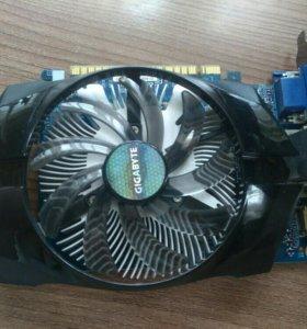 Видеокарта GIGABYTE GEFORCE GTX 640 2GB DDR3