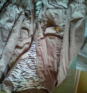 Куртка, джинсы, юбка, вельветовые штанишки