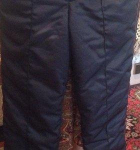 Тёплые штаны (от бушлата )